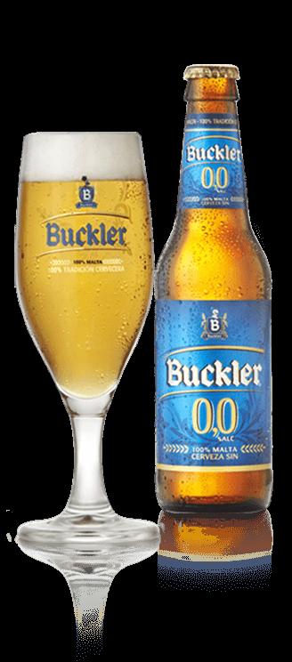 Copa y botella Buckler 0,0