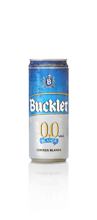 Lata Buckler 0,0 Blanca