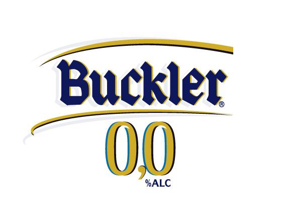 Logo cerveza Buckler 00